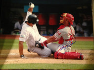 Mike Lieberthal Autographed Phillies 16 x 20  Photo 10