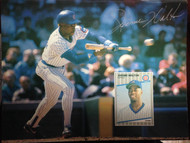 Jerome Walton Autographed Beckett Baseball Card Monthly