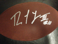 Robert Griffin III Autographed Wilson Football