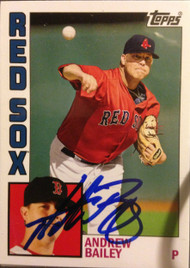 Andrew Bailey Autographed 2012 Topps Archive #196