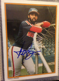 Harold Baines Autographed 1987 Topps All-Star#34