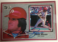 Pete Rose Autographed 1983 Donruss All Star Jumbo