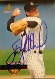 Sterling Hitchcock Autographed 1994 Pinnacle #213