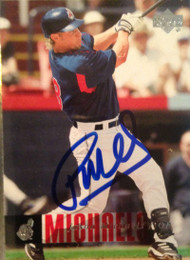 Jason Michaels Autographed 2006 Upper Deck #588