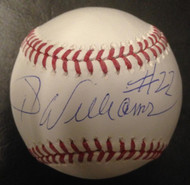 Jimy Williams Autographed ROMLB Baseball