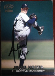 Jamie Moyer Autographed 2000 Pacific #401