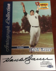 Hank Bauer Autographed 1999 Sports Illustrated Greats of The Game