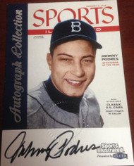 Johnny Podres Autographed 1999 Sports Illustrated Greats of The Game