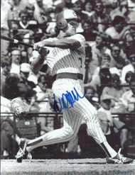 Paul Householder Autographed Milwaukee Brewers 5 x 7 Photo Very Tough Autograph