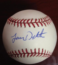 Lenny Dykstra Autographed ROMLB Baseball