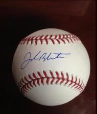 SOLD 2646 Joe Blanton Autographed ROMLB Baseball