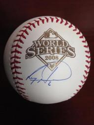 Ryan Howard Autographed Rawlings Official 2008 World Series Baseball
