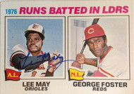 Lee May Autographed 1977 Topps #3