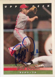 Bill Doran Autographed 1993 Upper Deck #107