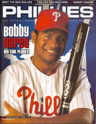Bobby Abreu 2002 Philadelphia Phillies Magazine Program
