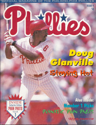 Doug Glanville 1998 Philadelphia Phillies Magazine Program