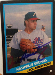 Jack Armstrong Autographed 1988 CMC AAA  #1988-126