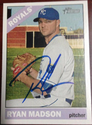Ryan Madson Autographed 2015 Topps Heritage #573