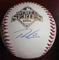 Ryan Madson Autographed 2008 World Series Baseball