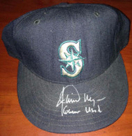 Jamie Moyer Autographed Game Used Seattle Mariners Cap Moyer Collection