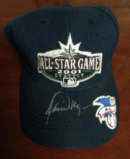 Jamie Moyer Autographed 2001 All Star Game Seattle Mariners Cap Owned by Him