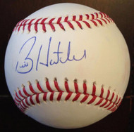 SOLD 3538 Billy Hatcher Autographed ROMLB Baseball