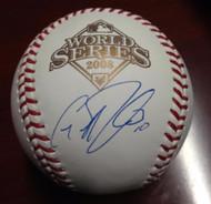 Geoff Jenkins Autographed 2008 World Series Baseball