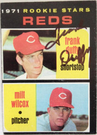 Frank Duffy Autographed 1971 Topps #164 Rookie Card