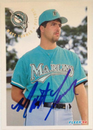 Matt Turner Autographed 1994 Fleer #478