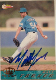 Matt Turner Autographed 1994 Pacific Crown Collection #251