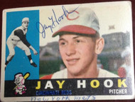Jay Hook Autographed 1960 Topps #187