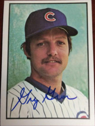 Greg Gross Autographed 1978 SSPC #257