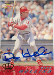 Dave Hollins Autographed 1994 Pacific #476