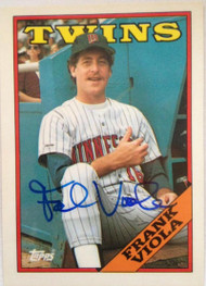 Frank Viola Autographed 1988 Topps Tiffany #625