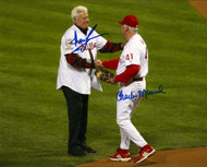 Dallas Green & Charlie Manuel Autographed Phillies 8 x 10  Photo 2