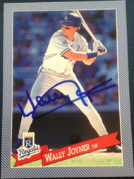 Wally Joyner Autographed 1993 Hostess #24
