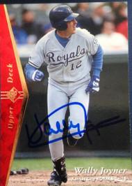 Wally Joyner Autographed 1995 SP #159