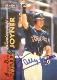 Wally Joyner Autographed 1999 Fleer Tradition #273