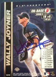 Wally Joyner Autographed 2000 MLB Showdown #363