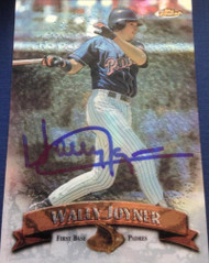 Wally Joyner Autographed 1998 Topps Finest #58