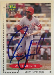 Jamie Dismuke Autographed 1991 Classic Best Minor Leagues #368