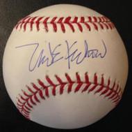 Mike Krukow Autographed ROMLB Baseball
