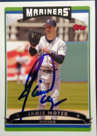 Jamie Moyer Autographed 2006 Topps #358