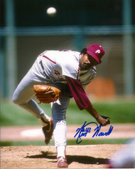 Ken Howell Autographed Phillies  8  x 10 Photo