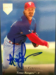 Kevin Gross Autographed 1995 Upper Deck Electric Diamond #389