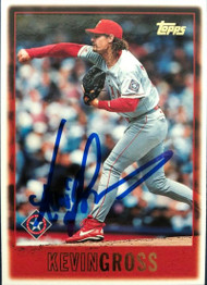 Kevin Gross Autographed 1997 Topps #328