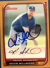 Kevin Millwood Autographed 2008 Bowman Gold #29