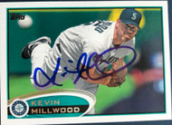 Kevin Millwood Autographed 2012 Topps Update #US303