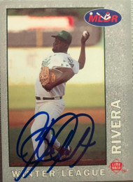 Ben Rivera Autographed 1993 Lime Rock Dominican Winter Baseball #44
