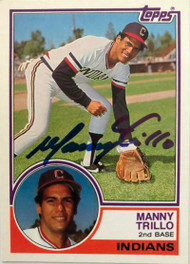 Manny Trillo Autographed 1983 Topps Traded #116T